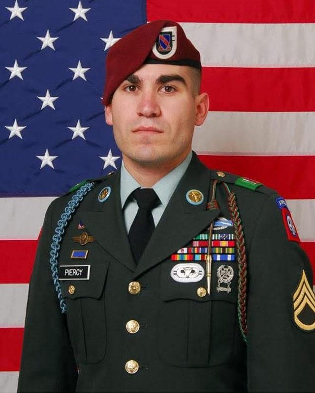 Army Staff Sergeant Brian Piercy