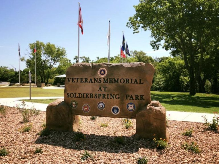 Veteran's Memorial at Soldier Springs Park