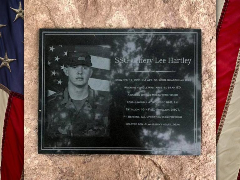 SSG Jeffery Hartley, U.S. Army, KIA