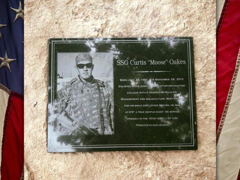 "SSG Curtis ""Moose"" Oakes, U.S. Army, KIA"