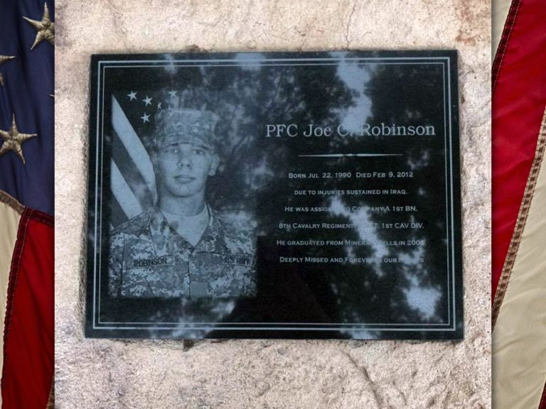 PFC Joe Robinson, U.S. Army