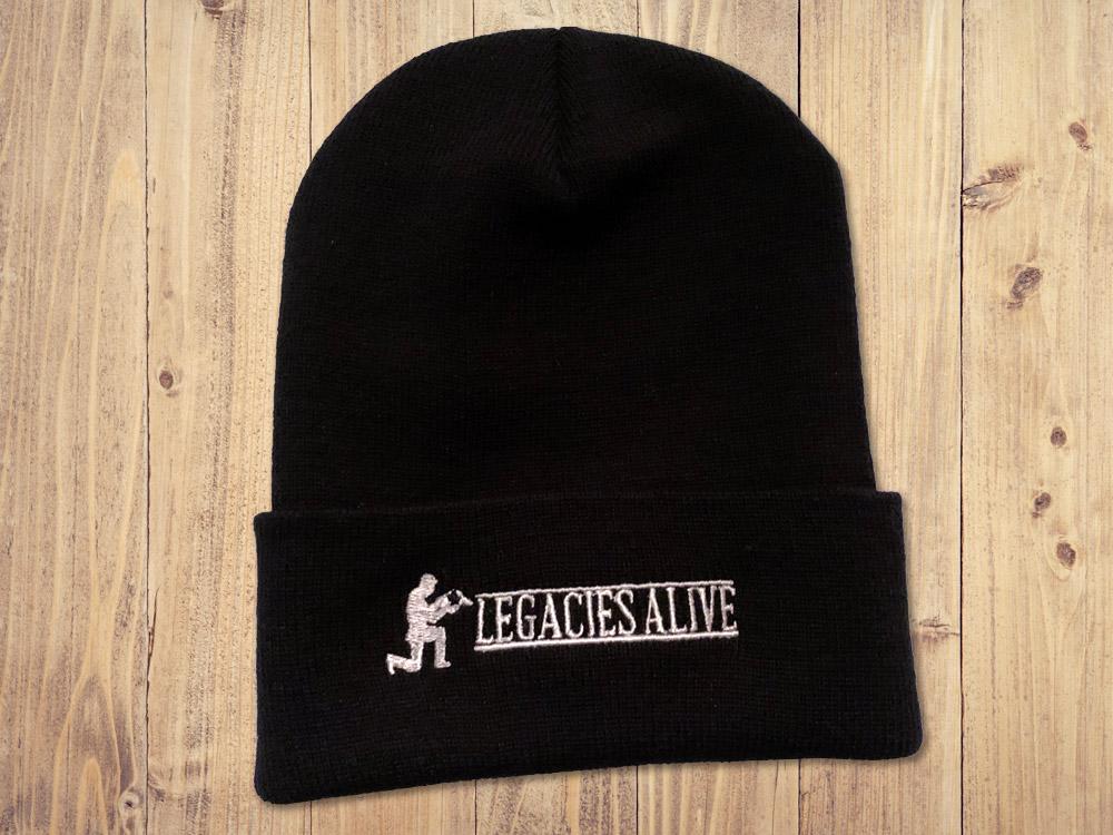 Legacies Alive - Black Beanie Cap