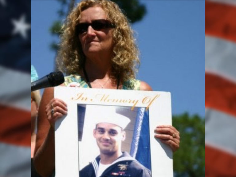 Navy SEAL Marc Allen Lee's mother, Debbie