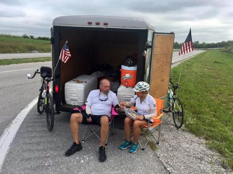 2017 Legacy Challenge: Cycle to Celebrate - Fueling up