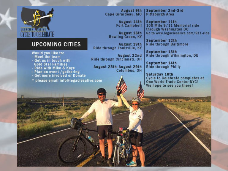 2017 Legacy Challenge: Cycle to Celebrate