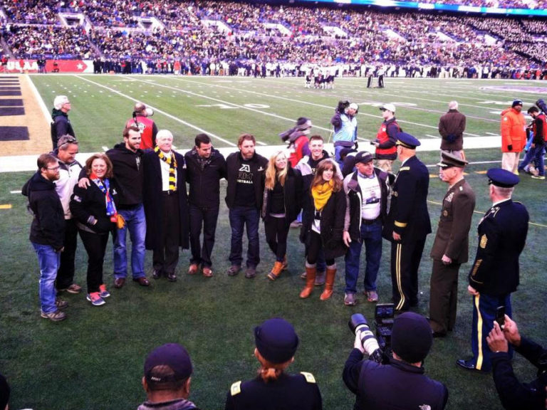 2014 Legacy Challenge: Mike's Hiking for Heroes - Finish at the Army Navy Game