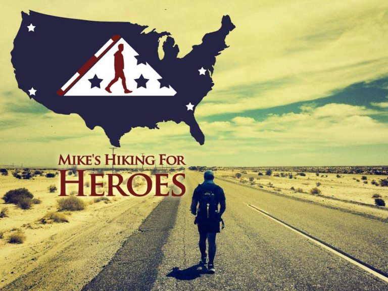 Mike's Hiking for Heroes Legacy Challenge 2014