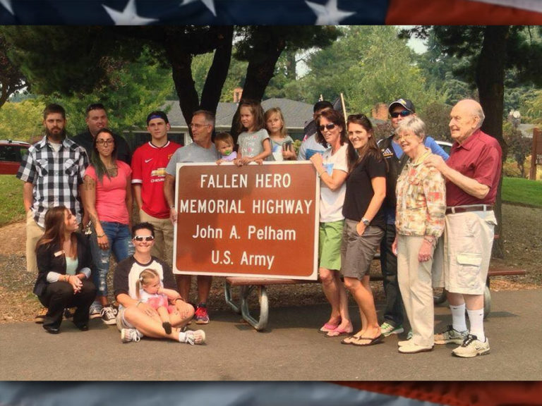 Legacy Project: John A. Pelham Fallen Hero Memorial Highway