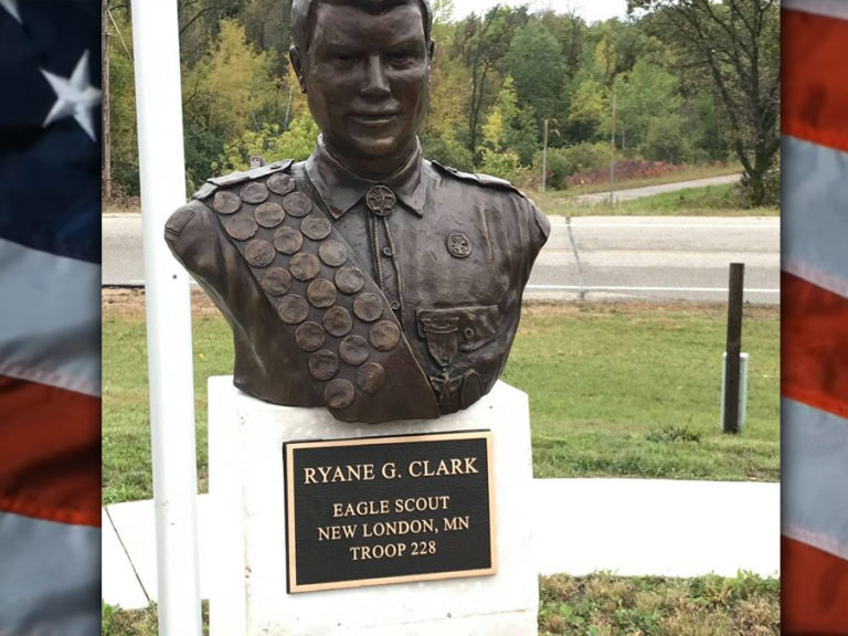Ryane Clark Memorial Parking Lot Dedication