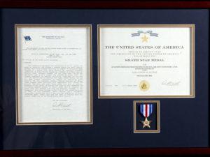 Navy SEAL Marc Allen Lee's SIlver Star Medal